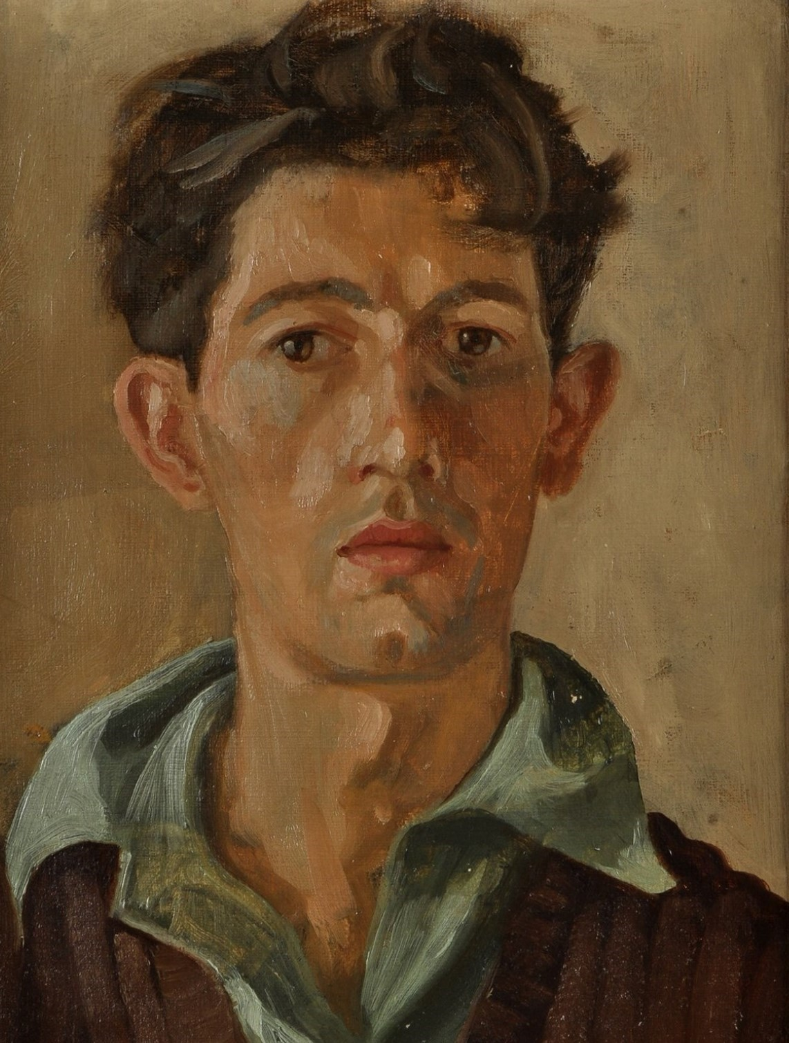 Norman Cornish self portrait