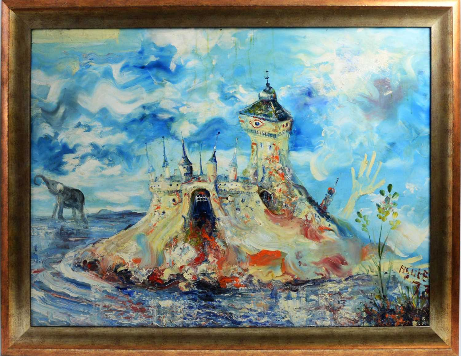 Hidden archive of local artists work discovered in Morpeth