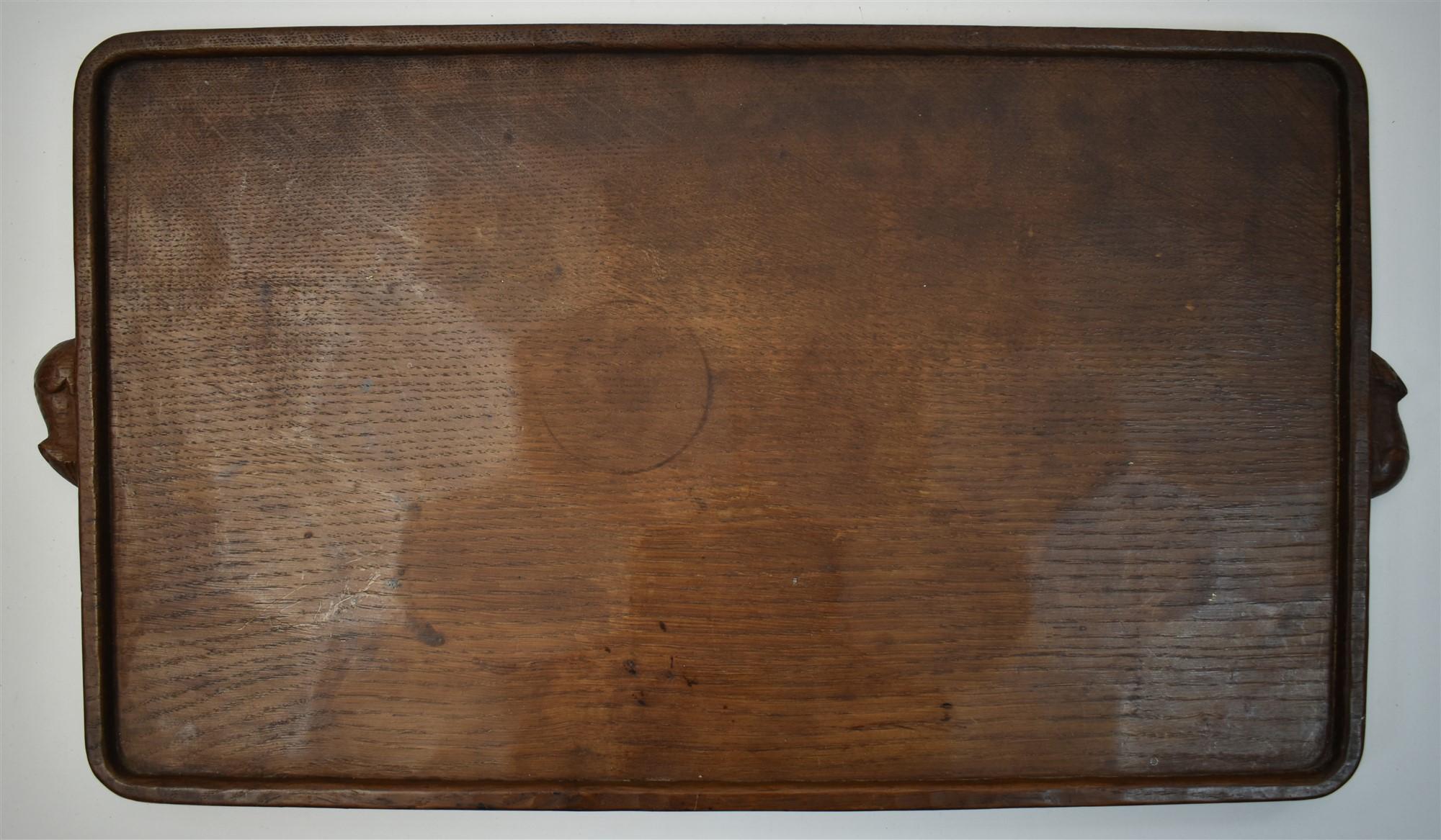 Robert Mouseman Thompson tray