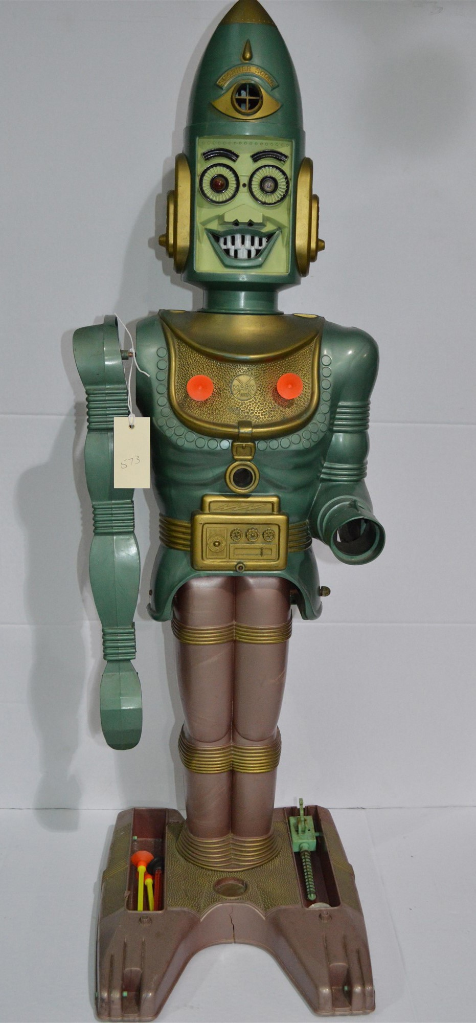 Marx 1963 Big Loo Giant Moon Robot