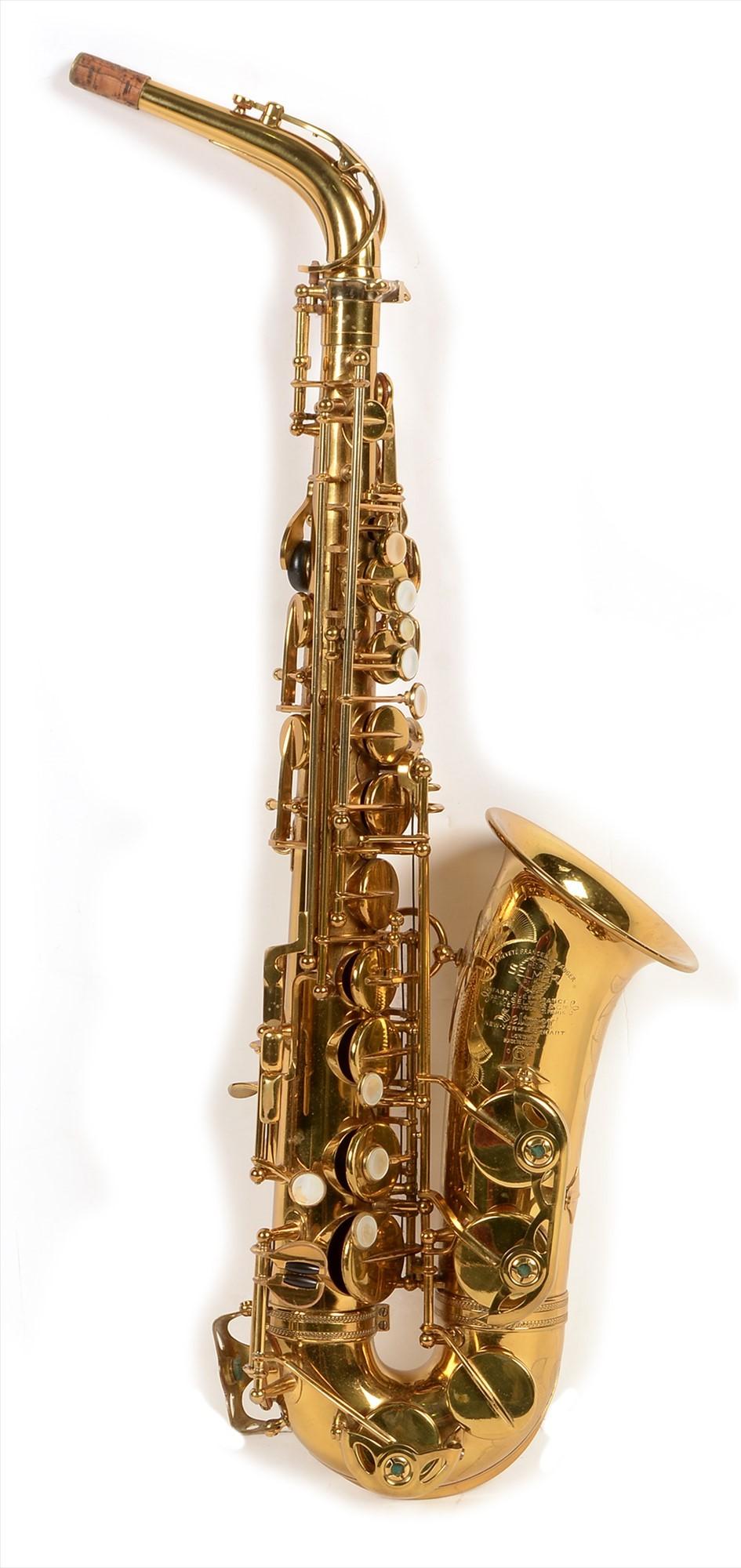 1960 Selmer VI saxophone, with original lacquer,
