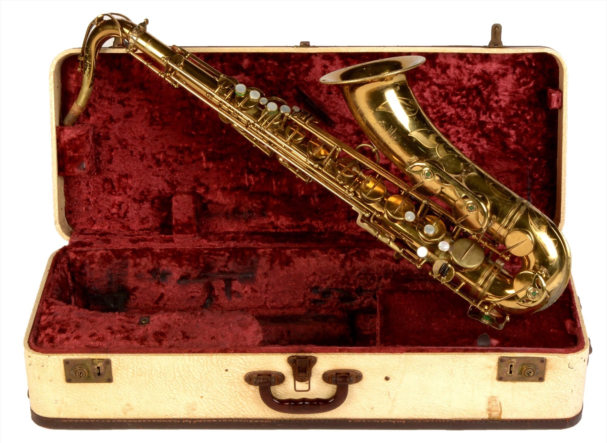 A 1962 Selmer VI tenor saxophone, with original lacquer