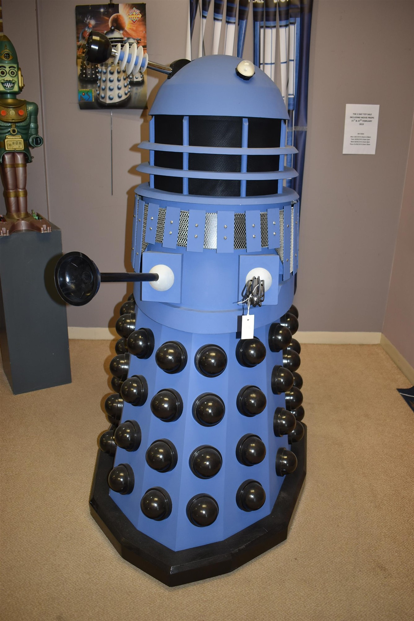 Full sized Dalek from Doctor Who
