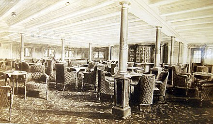 SS Olympic interior