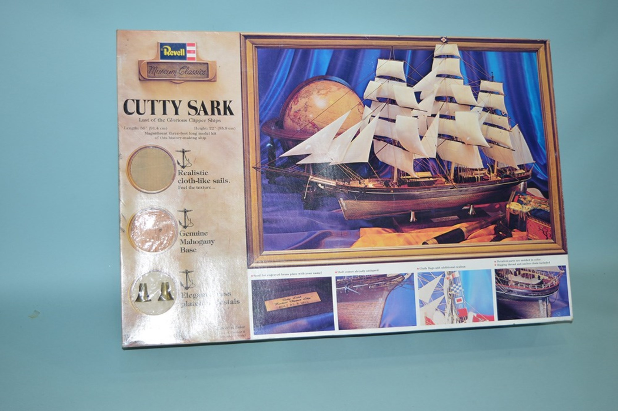 Revelle model constructor kit: Museum Classics, Cutty Sark H-393.