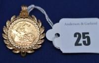 Lot 25 - An Elizabeth II gold half sovereign, 1982, in...