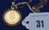 Lot 31 - An Elizabeth II gold half sovereign, 1982, in...
