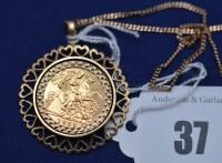 Lot 37 - An Elizabeth II gold half sovereign, 1982, in...