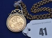 Lot 41 - An Elizabeth II gold half sovereign, 1982, in...