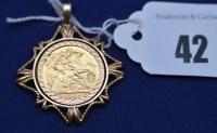 Lot 42 - An Elizabeth II gold half sovereign, 1982, in...