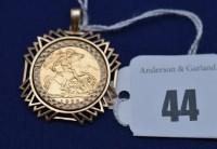 Lot 44 - An Elizabeth II gold half sovereign, 1982, in...