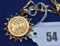 Lot 54 - An Elizabeth II gold half sovereign, 1982, in...
