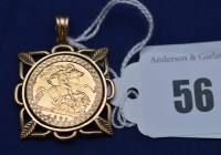 Lot 56 - An Elizabeth II gold half sovereign, 1982, in...