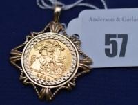 Lot 57 - An Elizabeth II gold half sovereign, 1982, in...