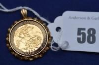 Lot 58 - An Elizabeth II gold half sovereign, 1982, in...