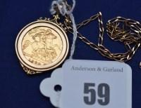 Lot 59 - An Elizabeth II gold half sovereign, 1982, in...