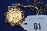 Lot 61 - An Elizabeth II gold half sovereign, 1982, in...