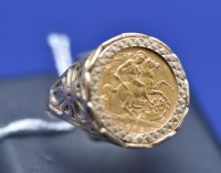 Lot 65 - An Elizabeth II gold half sovereign, 1982, in...