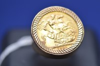 Lot 70 - An Elizabeth II gold sovereign, 1981, in 9ct....