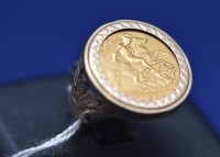Lot 72 - An Elizabeth II gold half sovereign, 1982, in...