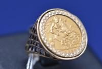 Lot 79 - An Elizabeth II gold half sovereign, 1982, in...