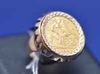 Lot 83 - An Elizabeth II gold half sovereign, 1982, in...