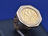 Lot 84 - An Elizabeth II gold half sovereign, 1982, in...