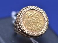 Lot 94 - An Elizabeth II gold half sovereign, 1982, in...