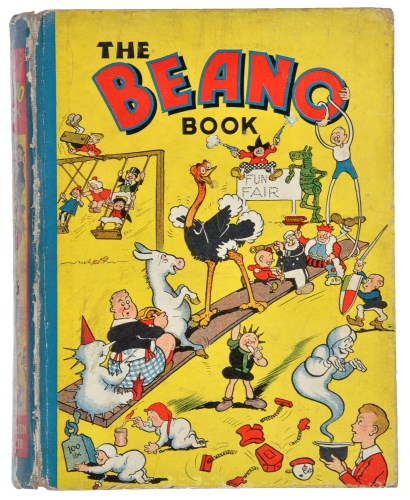 Lot 285-Beano Book 1: Pansy Potter Supports the Beano...