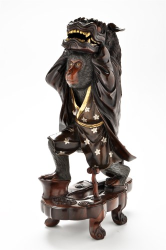 Lot 554-A 19th Century Japanese patinated and gilt bronze ...