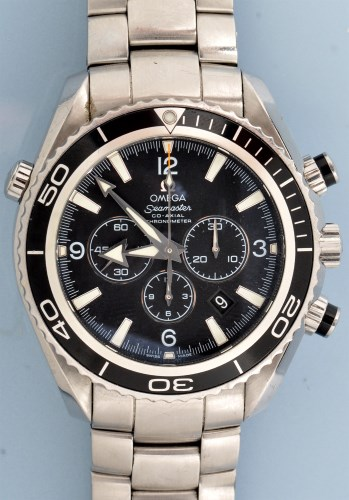 Lot 794-Omega Seamaster: a gentleman's stainless steel...