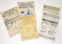 Lot 15-Bradford v Newcastle United, November 15th 1947,...