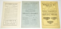 Lot 21 - Linfield v Newcastle United (Friendly), May...
