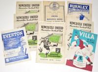 Lot 22-Everton v Newcastle United, August 21st 1948,...