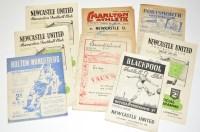 Lot 23-Charlton Athletic v Newcastle United, September...