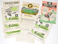 Lot 26-Newcastle United v Sunderland, March 5th 1949,...