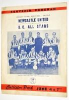 Lot 28-Newcastle United v B.C. All Stars, Callister Park,...