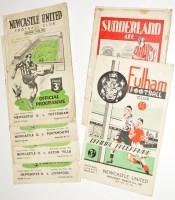 Lot 40 - Newcastle United v Liverpool, March 24th 1951,...