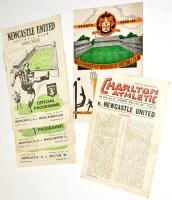 Lot 41 - Charlton Athletic v Newcastle United, April...