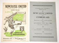 Lot 43 - Newcastle United V Stade Rennais (Friendly),...