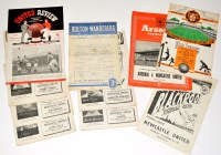 Lot 52 - Newcastle United 1952-53 Season Fixture...