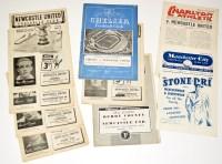 Lot 54 - Newcastle United 1952-53 Season Fixture...