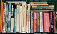 Lot 57 - A box of hardback books, mainly football...