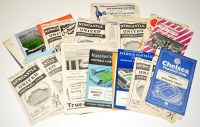 Lot 71 - Newcastle United football programmes, for the...