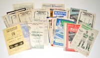 Lot 74 - Newcastle United football programmes, for the...