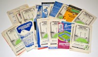 Lot 75 - Newcastle United football programmes, from the...