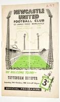 Lot 76 - Newcastle United v Tottenham Hotspur, October...