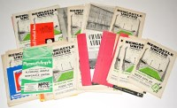 Lot 78 - Newcastle United fixture programmes, for the...