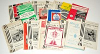 Lot 79 - Newcastle United football programmes, for the...
