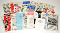 Lot 80 - Newcastle United football programmes, for the...